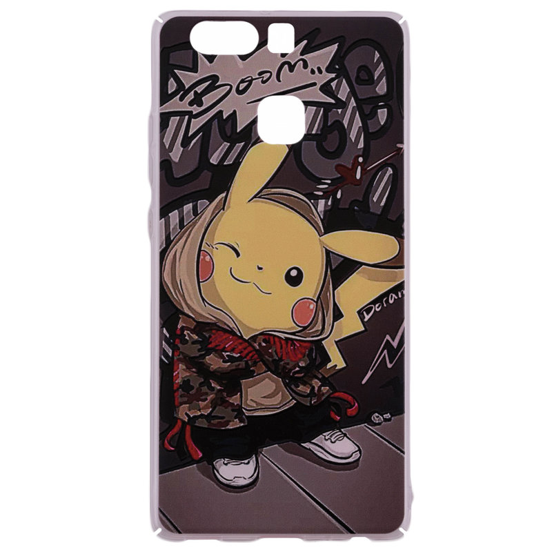 Husa Huawei P9 Plastic cu Model Pokemon Cool Pikachu