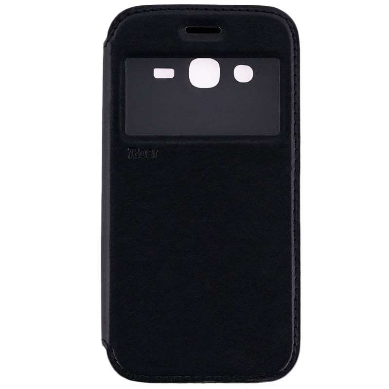 Husa Samsung Galaxy J2 2016 Flip Carte Roar Noble View Case Negru