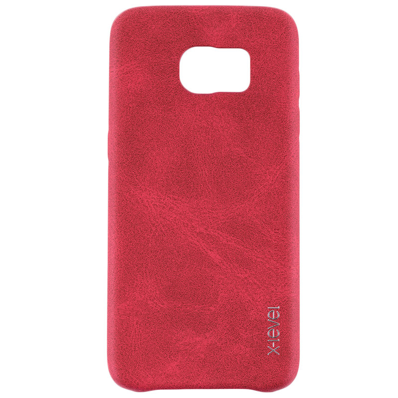 Husa Samsung Galaxy S7 Edge X-Level Vintage Classic Leather - Red