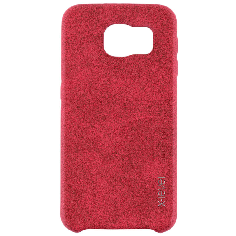 Husa Samsung Galaxy S6 G920 X-Level Vintage Classic Leather - Red