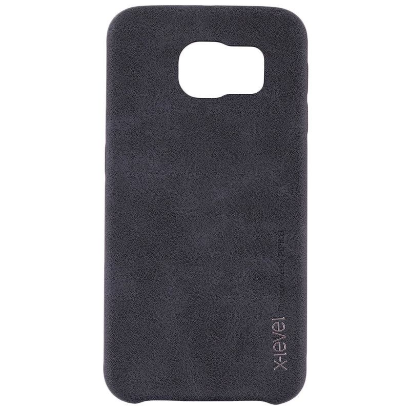 Husa Samsung Galaxy S6 G920 X-Level Vintage Classic Leather - Black