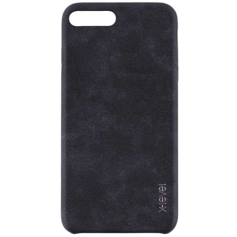Husa Apple iPhone 7 X-Level Vintage Classic Leather - Black