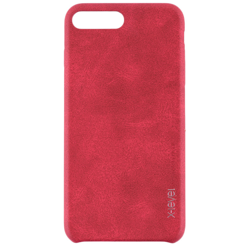 Husa Apple iPhone 7 X-Level Vintage Classic Leather - Red