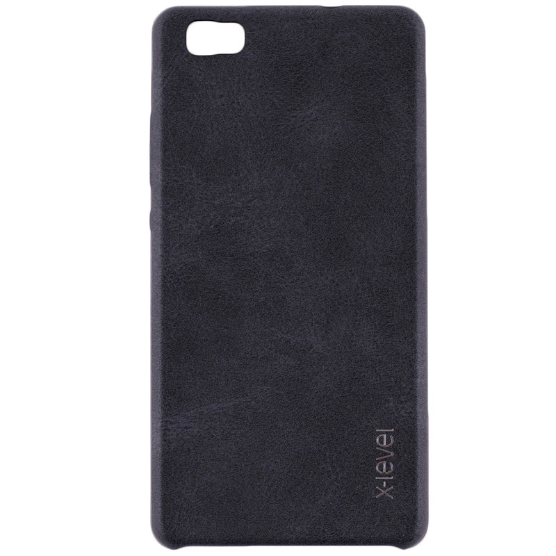 Husa Huawei P8 Lite X-Level Vintage Classic Leather - Black