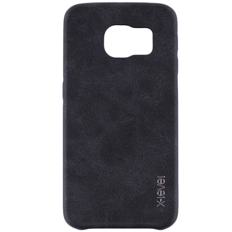 Husa Samsung Galaxy S6 Edge G925 X-Level Vintage Classic Leather - Black