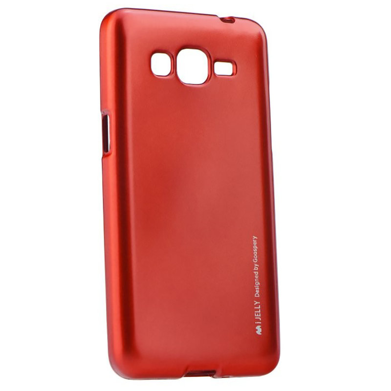 Husa Samsung Galaxy Grand Prime G530 Mercury i-Jelly TPU - Red