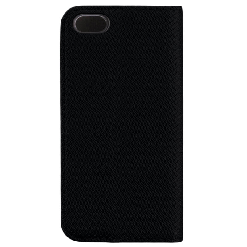 Husa Smart Book iPhone SE, 5, 5S Flip Negru