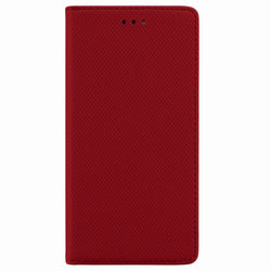 Husa Smart Book iPhone 7 Plus Flip Rosu