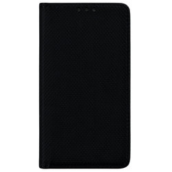 Husa Smart Book Samsung Galaxy J1 2016 J120 Flip Negru