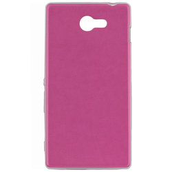 Husa Sony Xperia M2 Jelly Leather - Roz