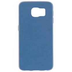 Husa Samsung Galaxy S6 G920 Jelly Leather - Albastru