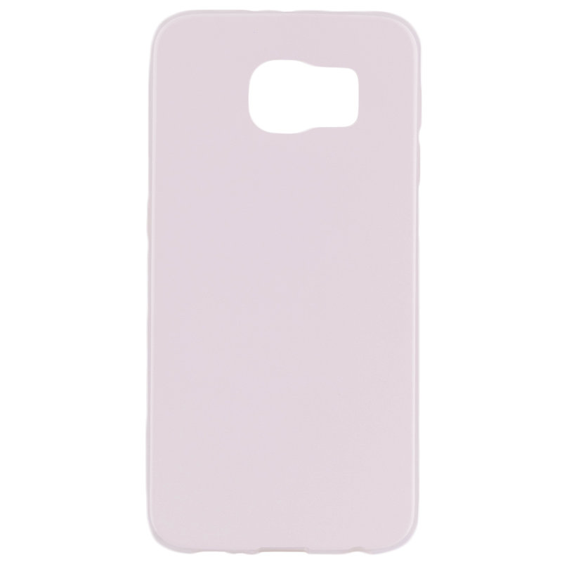 Husa Samsung Galaxy S6 G920 Jelly Leather - Alb