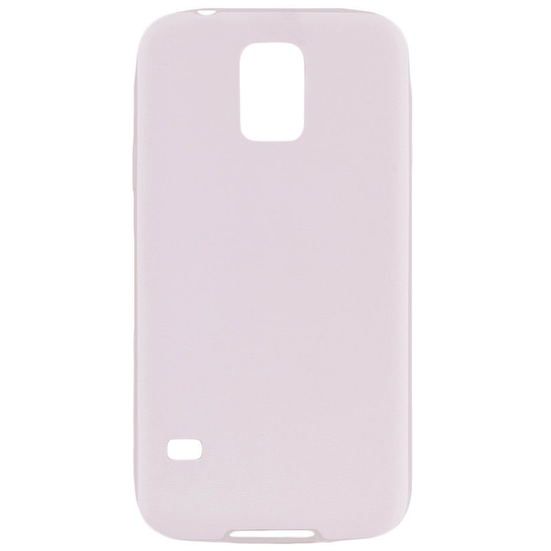 Husa Samsung Galaxy S5 G900 Jelly Leather - Alb