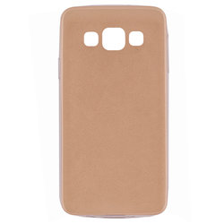 Husa Samsung Galaxy A3 SM-A300 Jelly Leather - Auriu