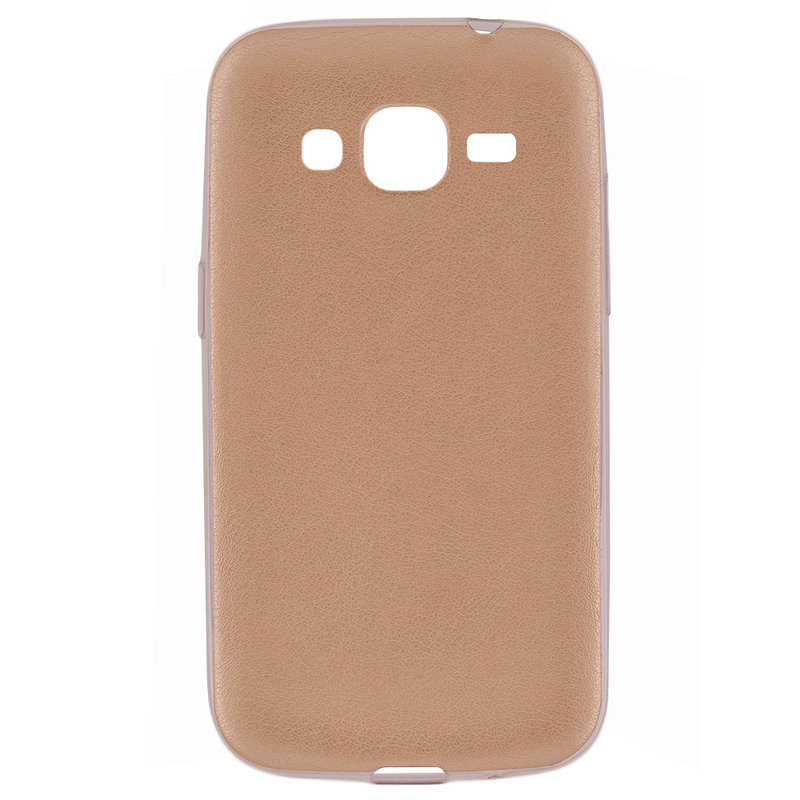 Husa Samsung Galaxy Core Prime G360 Jelly Leather - Auriu