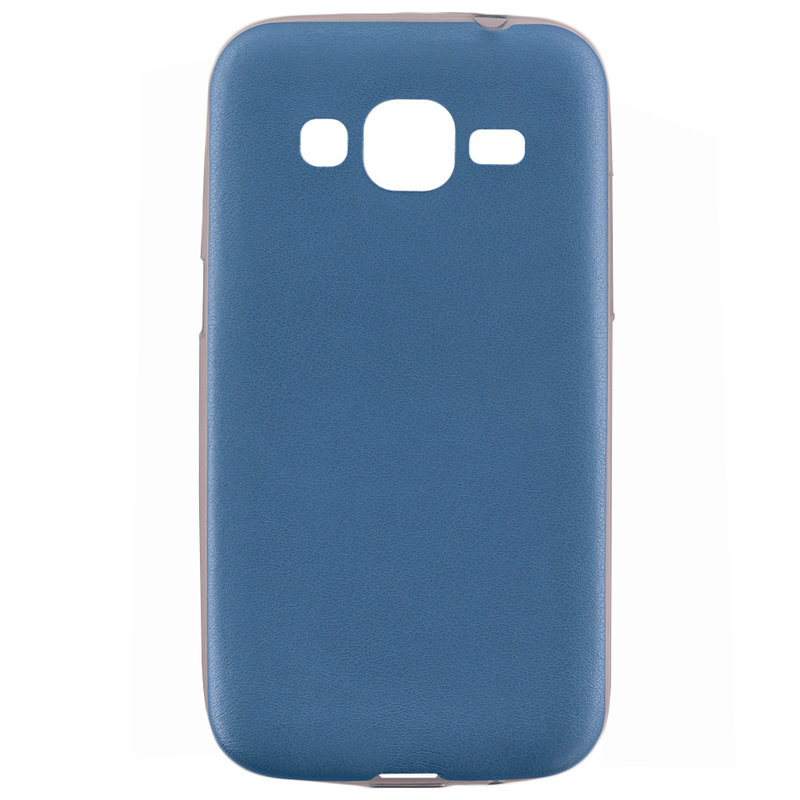 Husa Samsung Galaxy Core Prime G360 Jelly Leather - Albastru