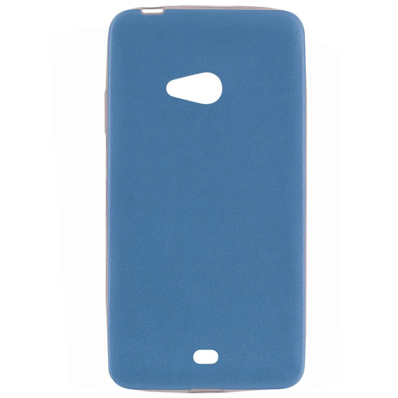 Husa Microsoft Lumia 540 Jelly Leather - Albastru