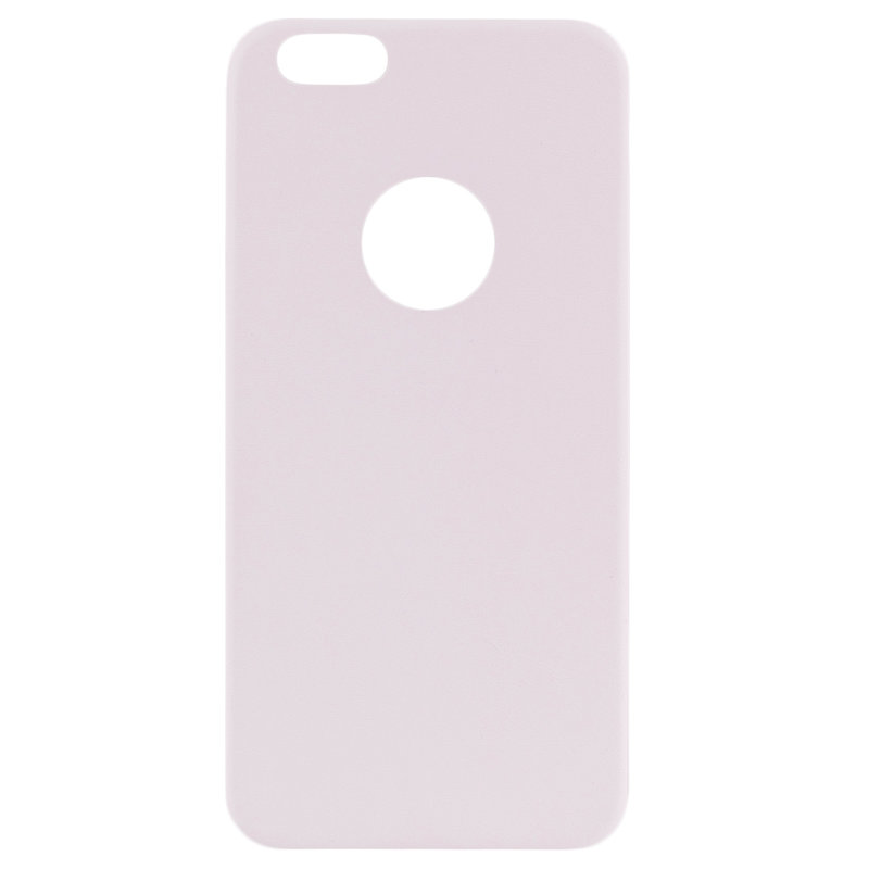 Husa Iphone 6 Jelly Leather - Alb