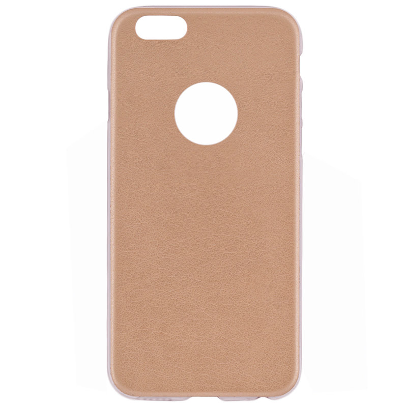 Husa Iphone 6 Jelly Leather - Auriu