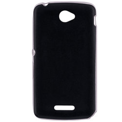Husa Sony Xperia E4 Jelly Leather - Negru