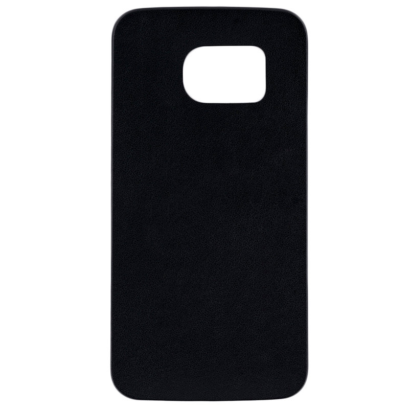 Husa Samsung Galaxy S6 Edge G925 Jelly Leather - Negru