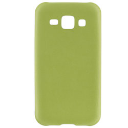 Husa Samsung Galaxy J1 SM-J100 Jelly Leather - Verde