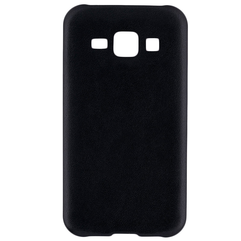 Husa Samsung Galaxy J1 SM-J100 Jelly Leather - Negru