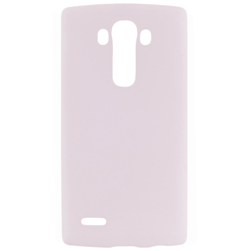 Husa LG G4 H815 Jelly Leather - Alb