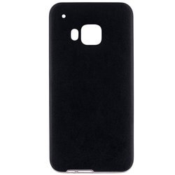 Husa HTC One M9 Jelly Leather - Negru