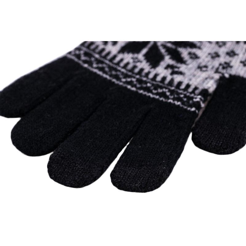 Manusi Touchscreen Snow - Negru
