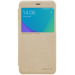 Husa Xiaomi Redmi Note 5A Nillkin Sparkle S-View Flip Auriu