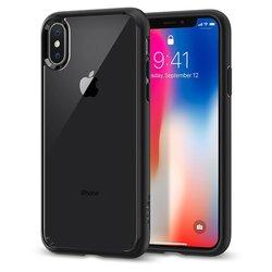 Bumper Spigen Apple iPhone X, iPhone 10 Ultra Hybrid - Matte Black