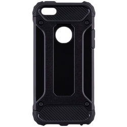 Husa iPhone SE, 5, 5S Forcell Armor - Negru
