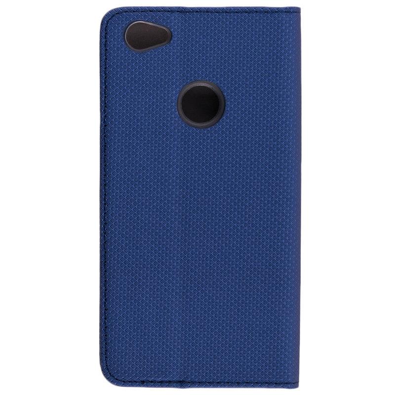 Husa Smart Book Xiaomi Redmi Note 5A Flip Albastru