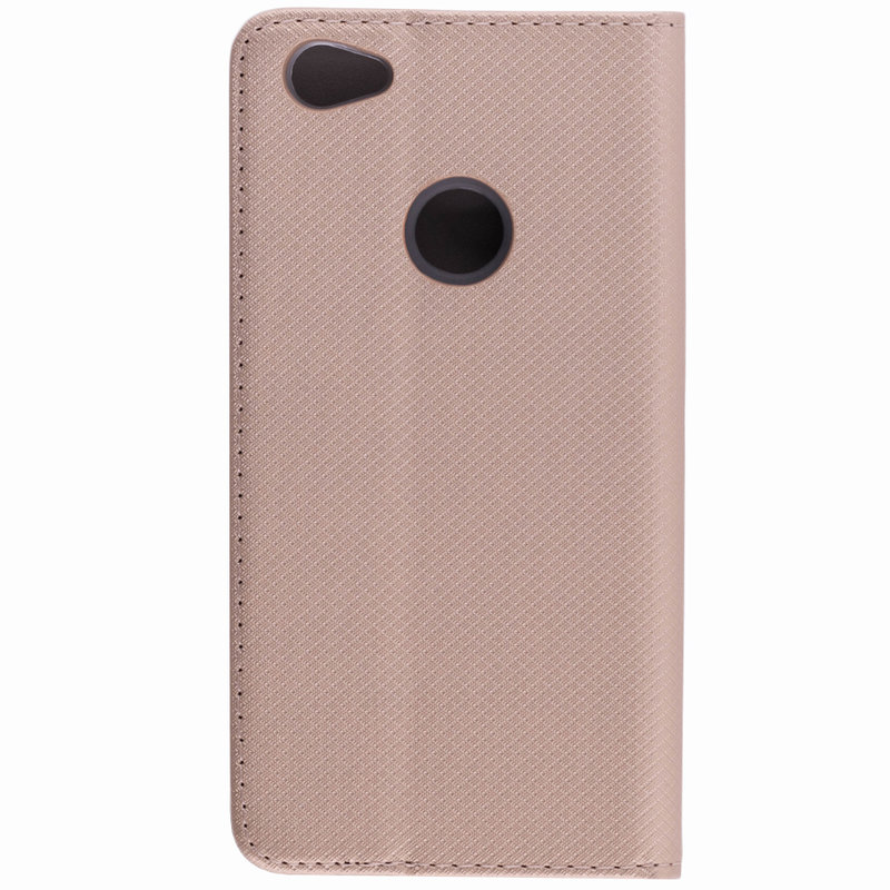 Husa Smart Book Xiaomi Redmi Note 5A Flip Auriu