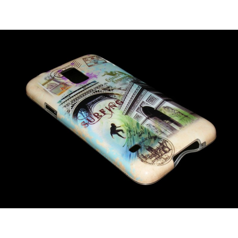 Husa Samsung Galaxy S5 G900 Silicon Gel TPU Model 118