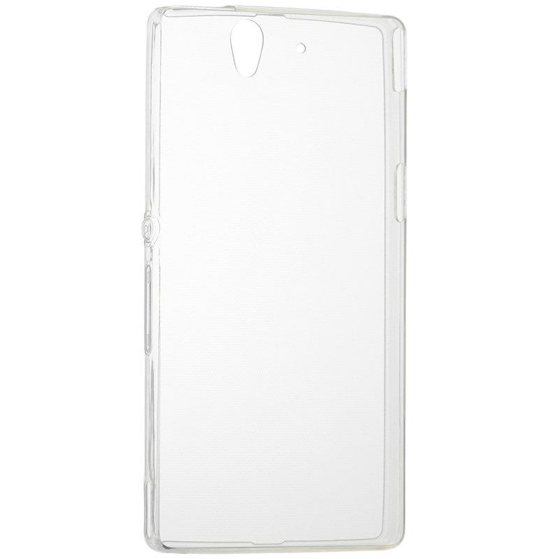 Husa Sony Xperia Z TPU UltraSlim Transparent