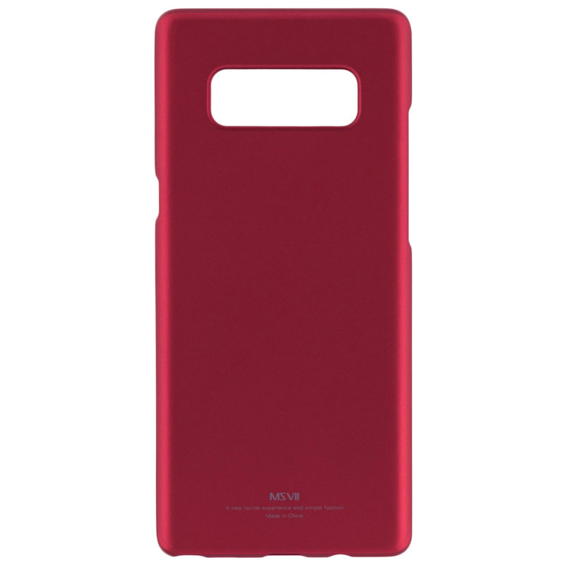 Husa Samsung Galaxy Note 8 MSVII Ultraslim Back Cover - Red