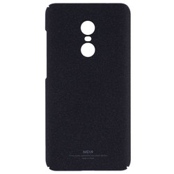 Husa Xiaomi Redmi Note 4 (MediaTek) MSVII Ultraslim Back Cover - Matt Black