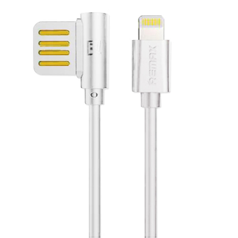 Cablu de date Lightning Remax Rayen - Alb