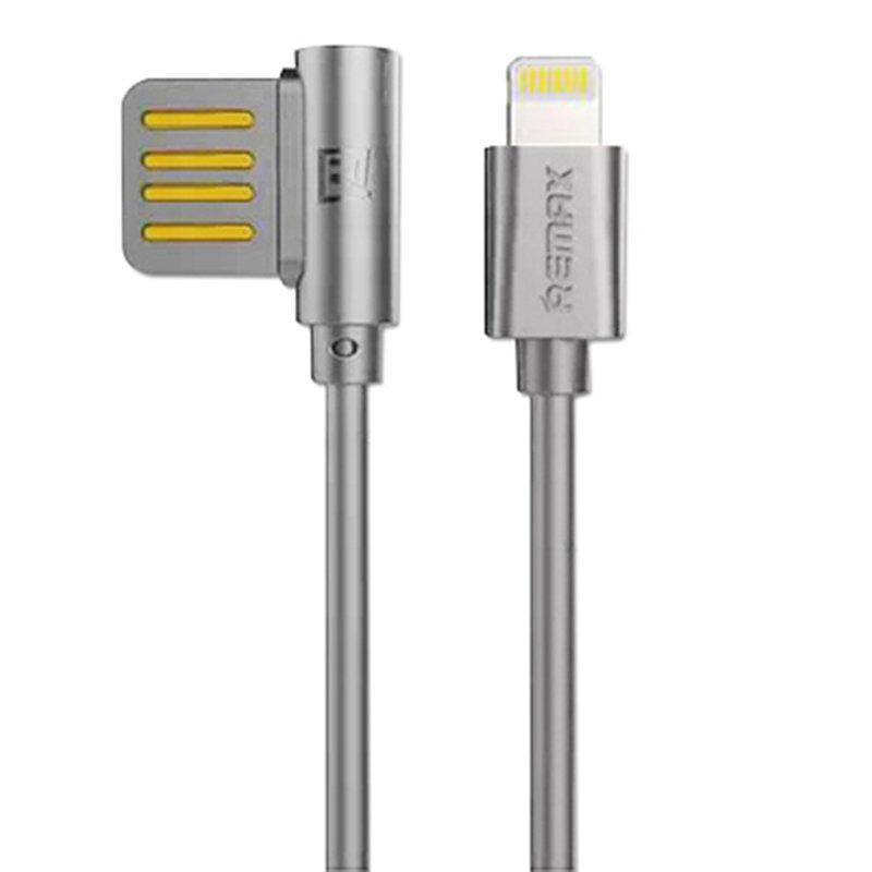 Cablu de date Lightning Remax Rayen - Gri