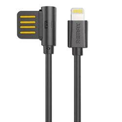 Cablu de date Lightning Remax Rayen - Negru
