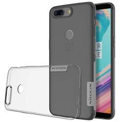 Husa OnePlus 5T Nillkin Nature UltraSlim Fumuriu