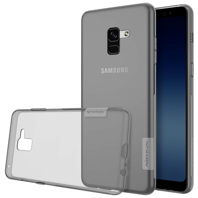 Husa Samsung Galaxy A8 2018 A530 Nillkin Nature UltraSlim Fumuriu