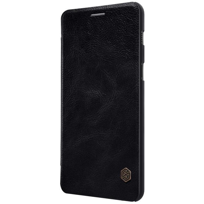 Husa Samsung Galaxy A8 2018 A530 Flip Nillkin QIN Negru