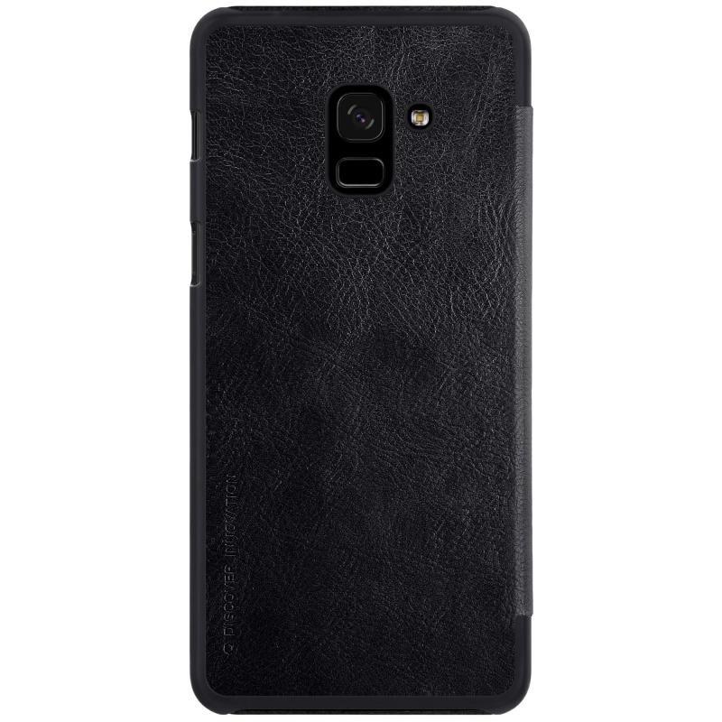 Husa Samsung Galaxy A8 Plus 2018 A730 Flip Nillkin QIN Negru