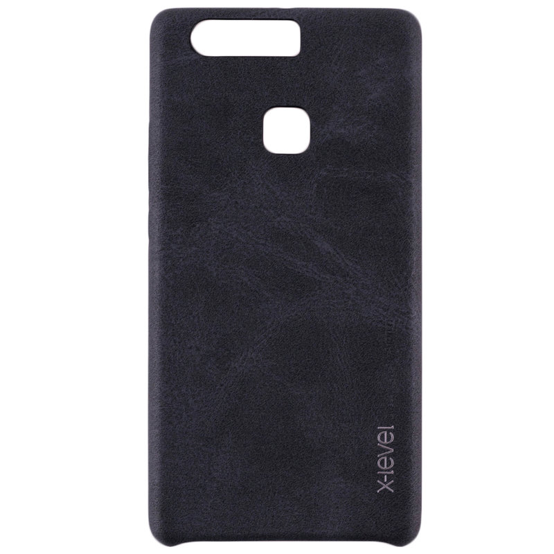 Husa Huawei P9 Plus X-Level Vintage Classic Leather - Black