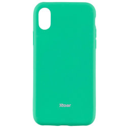Husa Apple iPhone X, iPhone 10 Roar Colorful Jelly Case Mint Mat