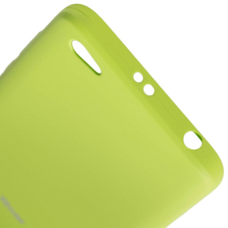 Husa Xiaomi Redmi Note 5A Roar Colorful Jelly Case Verde Mat