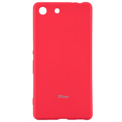 Husa Sony Xperia M5 Roar Colorful Jelly Case Roz Mat